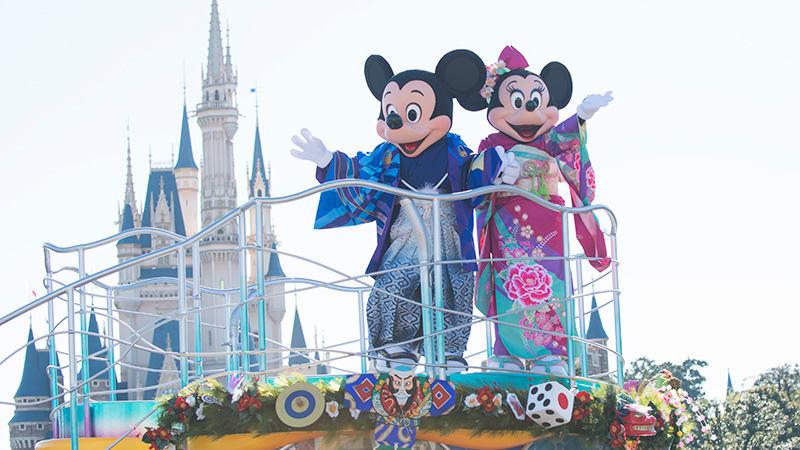 東京迪士尼正月特別活動 來源:迪士尼官網
