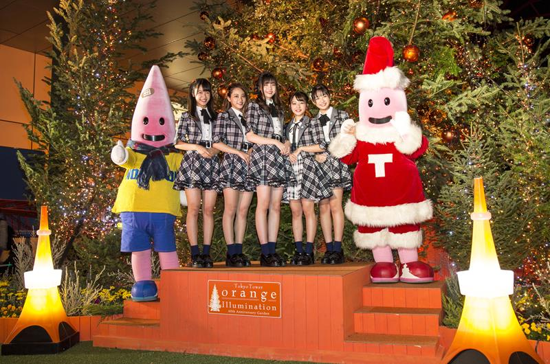 東京鐵塔Winter Fantasy(照片來源:東京タワー官網)https://bit.ly/2Rv0Owa