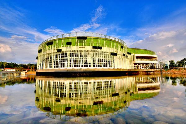 樂農館也有角逐本次花博最美場館的機會!相片來源:台中花博官方網站。