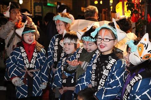 王子狐狸遊行 來源:東京的觀光官方網站GO TOKYO