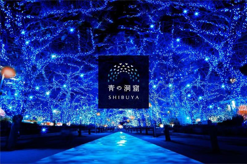 人氣度全國第1名的「青の洞窟」(照片來源:青の洞窟Shibuya官網)https://aodo.jp/