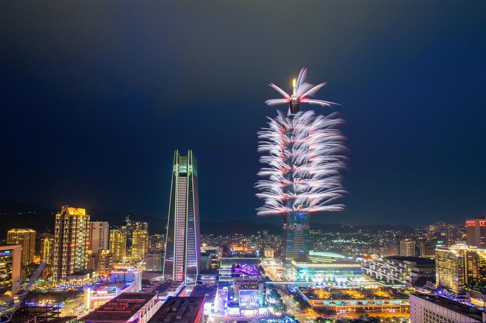 每年的重頭戲台北101跨年煙火秀 來源:台北101官網
