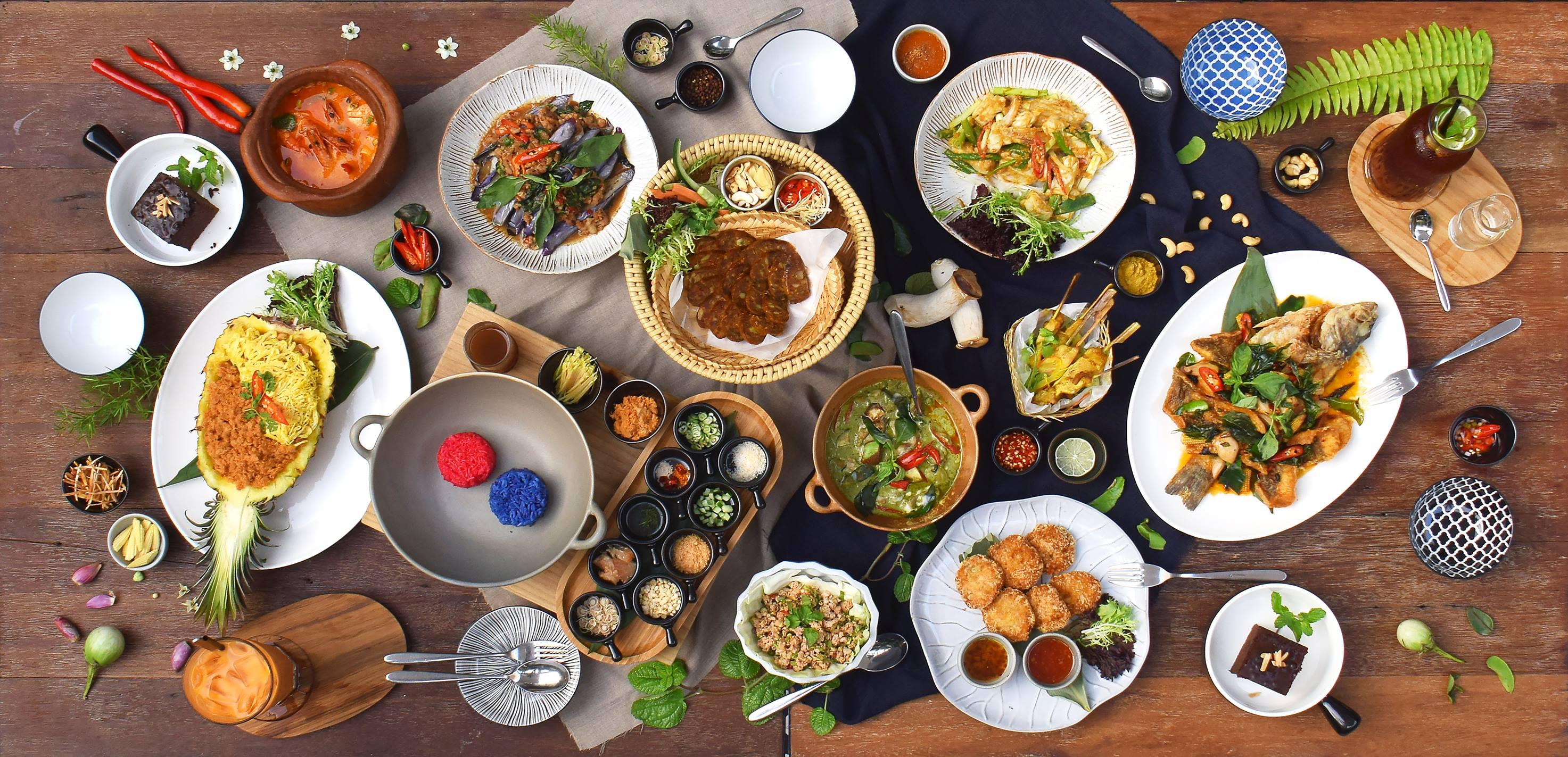 來Thaï.J享用道地的泰式料理。相片來源:Thaï.J臉書粉專。
