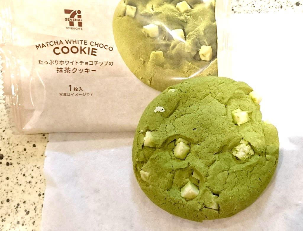 白巧克力日式抹茶餅乾,圖片取自mognavi.jp。