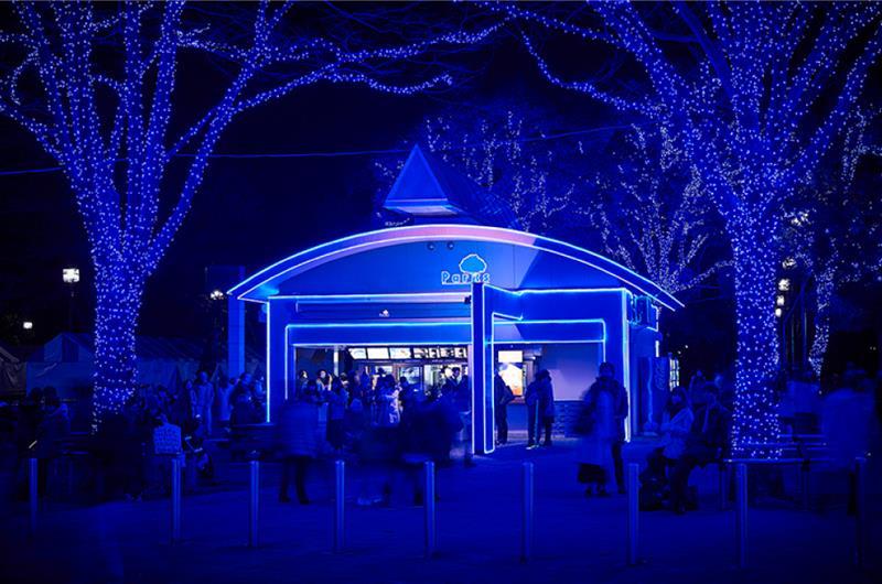 BLUE PARKS(照片來源:青の洞窟Shibuya官網)https://aodo.jp/