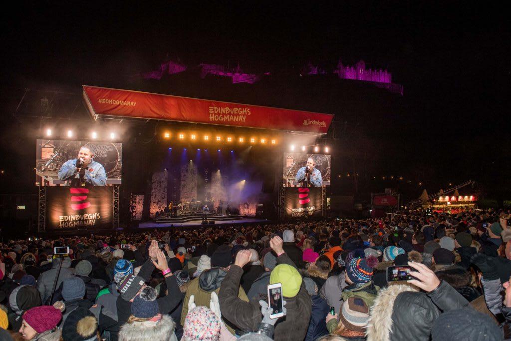 充滿巨星的花園演唱會 Picture Copyright Chris Watt www.chriswatt.com