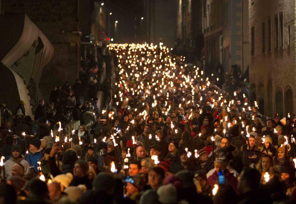 12/30火炬遊行為跨年揭開序幕 Picture Copyright www.edinburghshogmanay.com