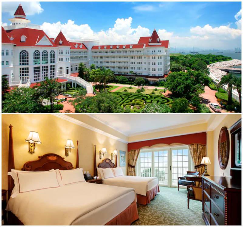 香港迪士尼樂園酒店,圖片取自https://www.hongkongdisneyland.com。