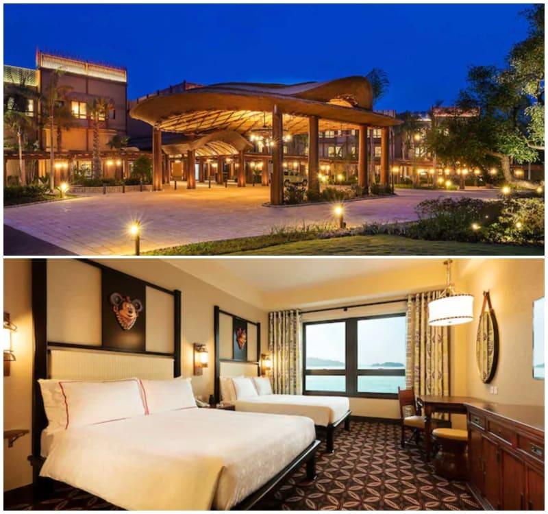 迪士尼探索家度假酒店,圖片取自https://www.hongkongdisneyland.com。