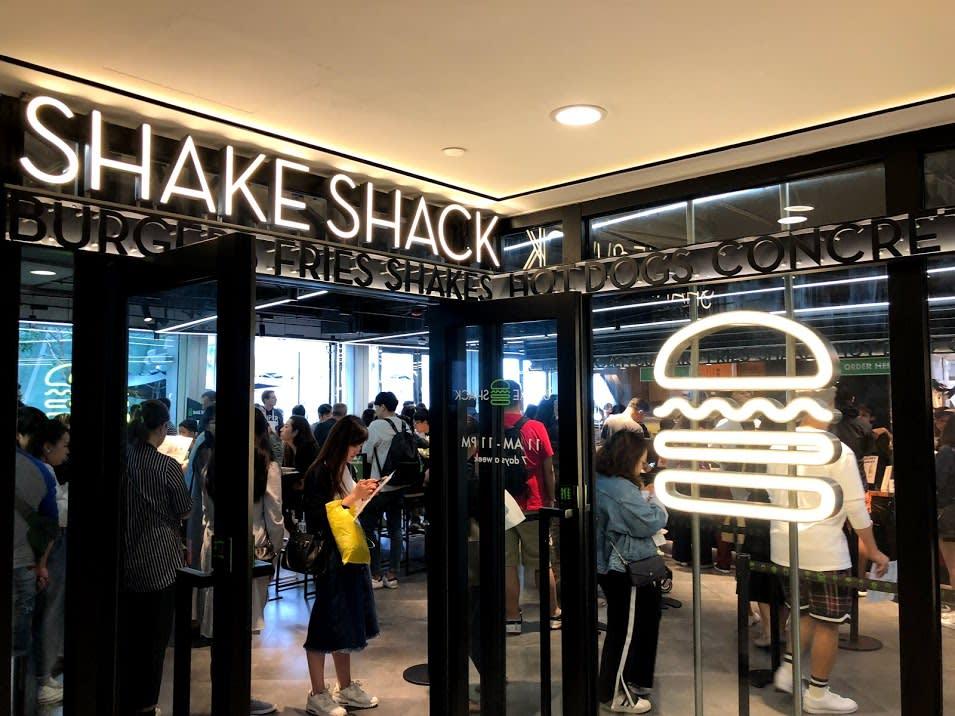 Shake Shack Hong Kong | PC: Zach Huang