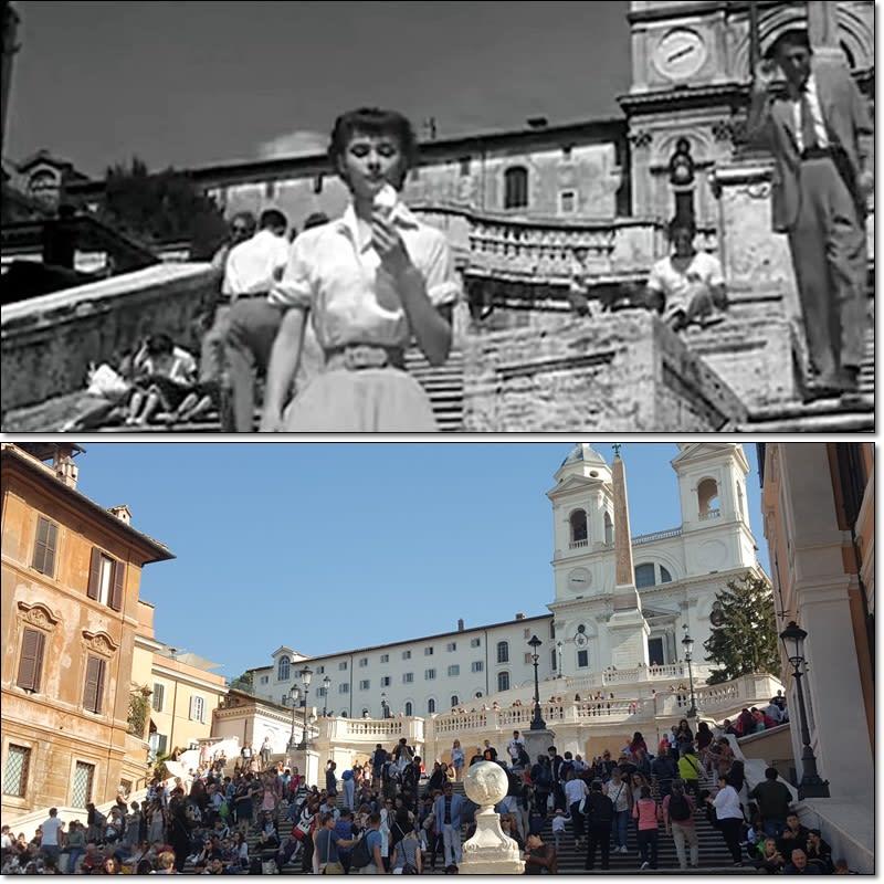 羅馬假期-西班牙階梯