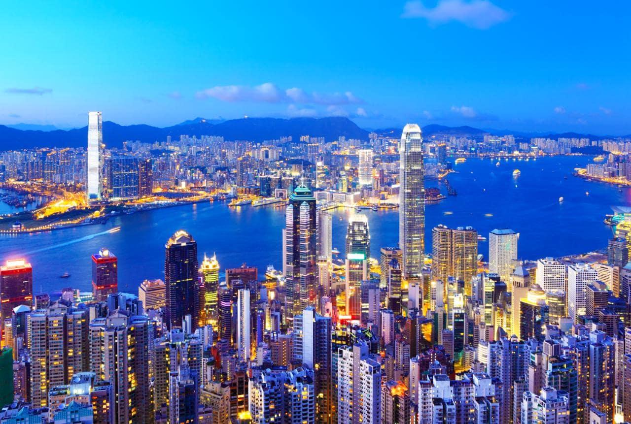 香港,圖片取自www.telegraph.co.uk。