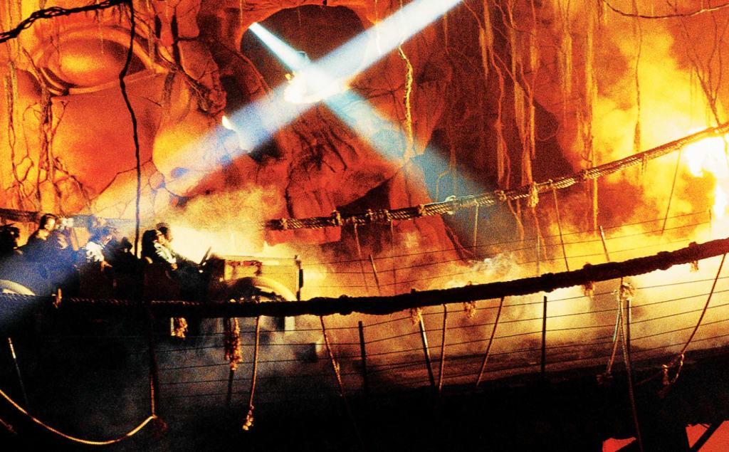 Indiana Jones Adventure,圖片取自美國迪士尼樂園官網。