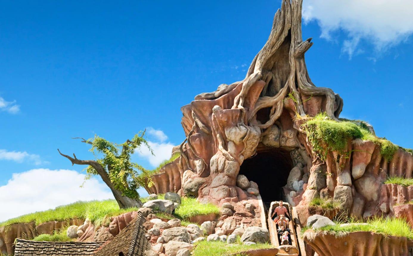 Splash Mountain,圖片取自美國迪士尼樂園官網。