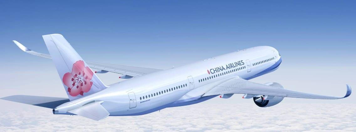 圖片取自中華航空FB粉絲團。