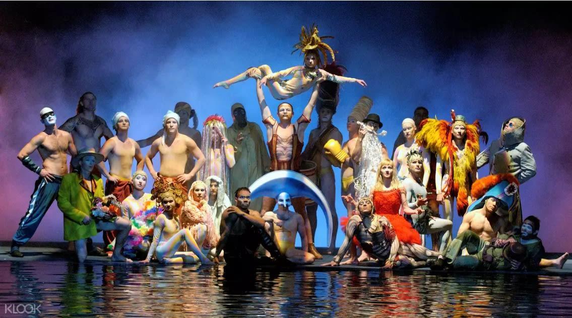 【美國自由行】5大拉斯維加斯必看大秀!太陽馬戲團經典演出無極限