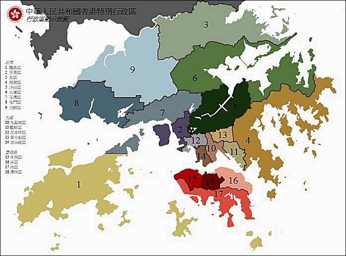 【香港自由行】超完整香港旅遊景點懶人包!含離島18行政區70景點全搞定