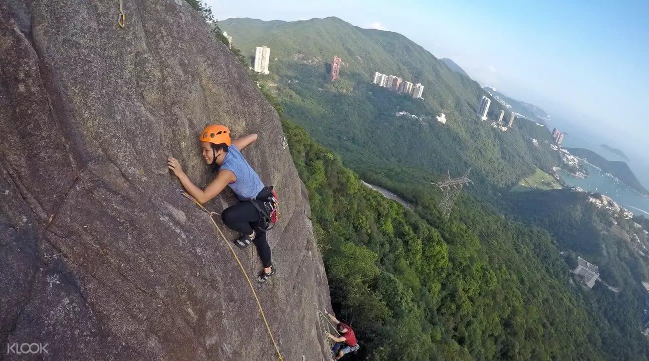 峭壁攀岩考驗勇氣及耐力,熱愛挑戰的朋友可以試試。