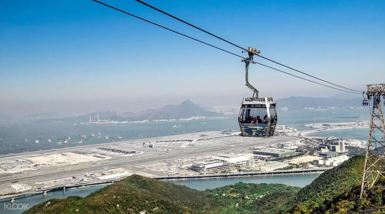 上山頂、搭纜車,都是從空中品味這座城市的好選擇。