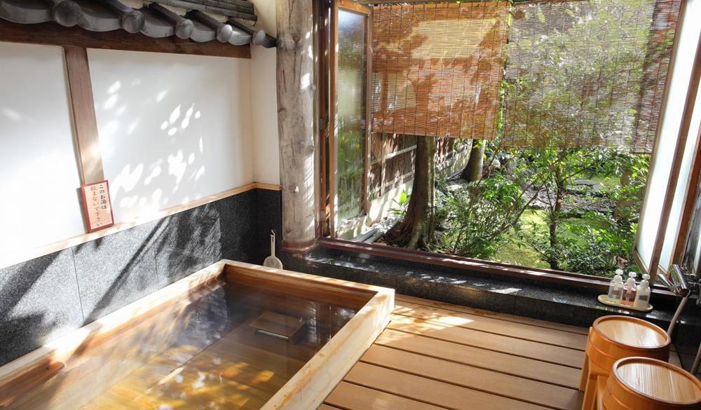 飯店內湯屋(照片來源:Arashiyama Benkei官網)https://benkei.biz/