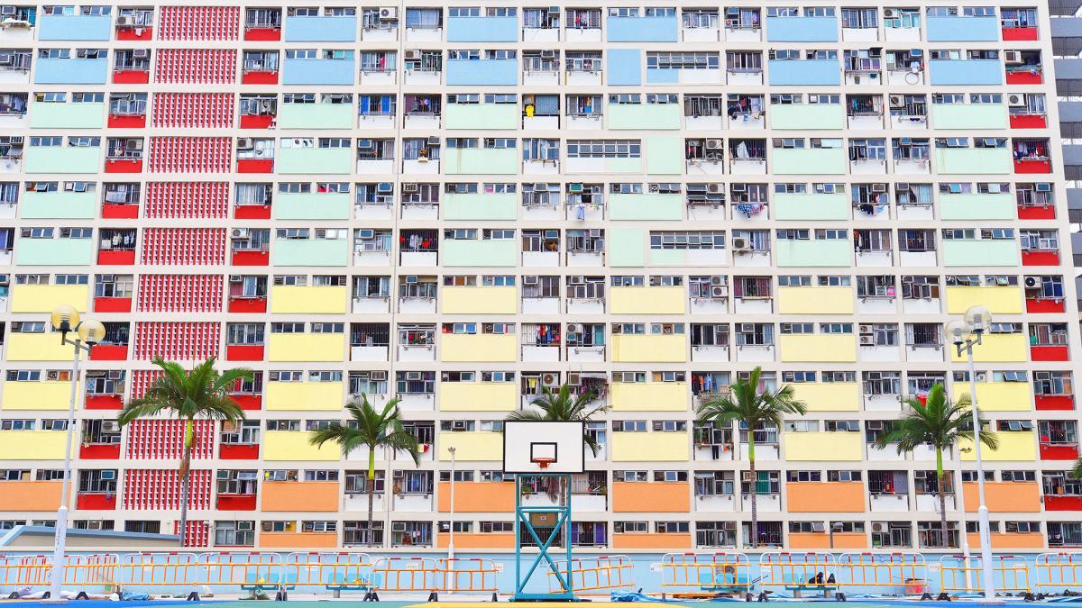 彩虹邨,圖片取自www.orangenews.hk。