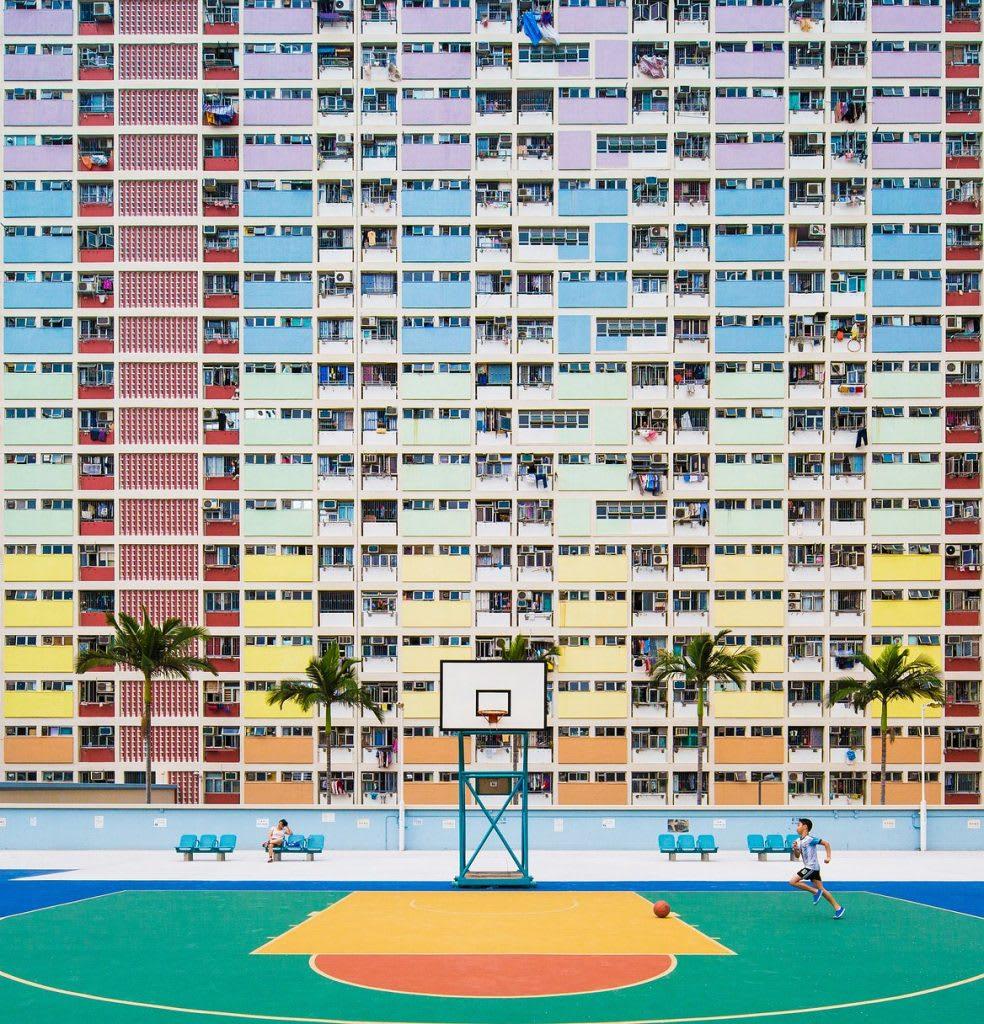彩虹邨,圖片取自Sony World Photography Awards 網站。