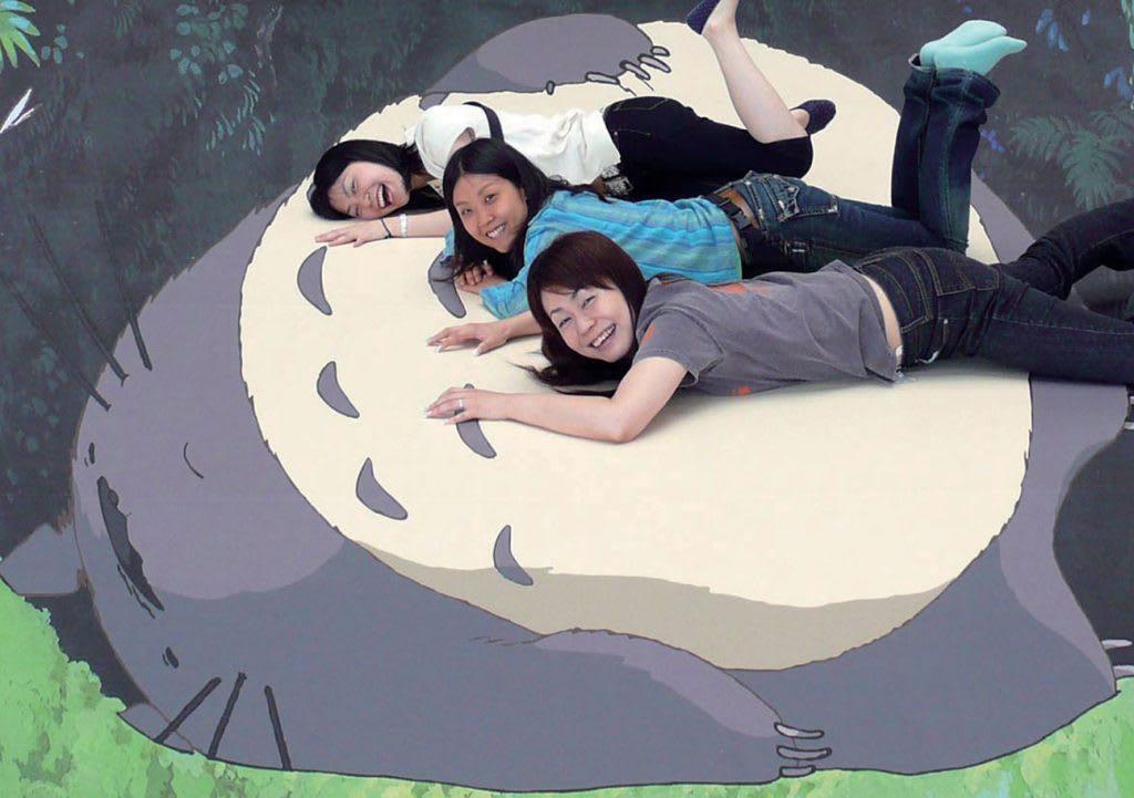 台北展覽,吉卜力動畫手稿展,互動裝置區。