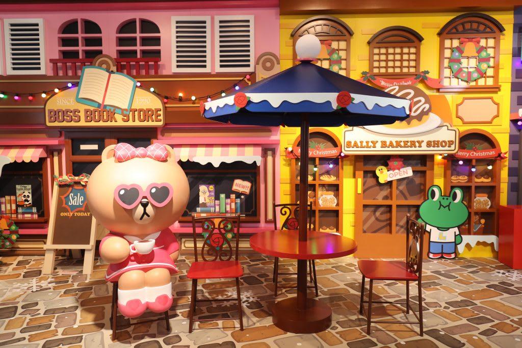 台北展覽,LINE FRIENDS:世界巡迴之旅,Choco正在喝咖啡,要不要也一起喝一杯?