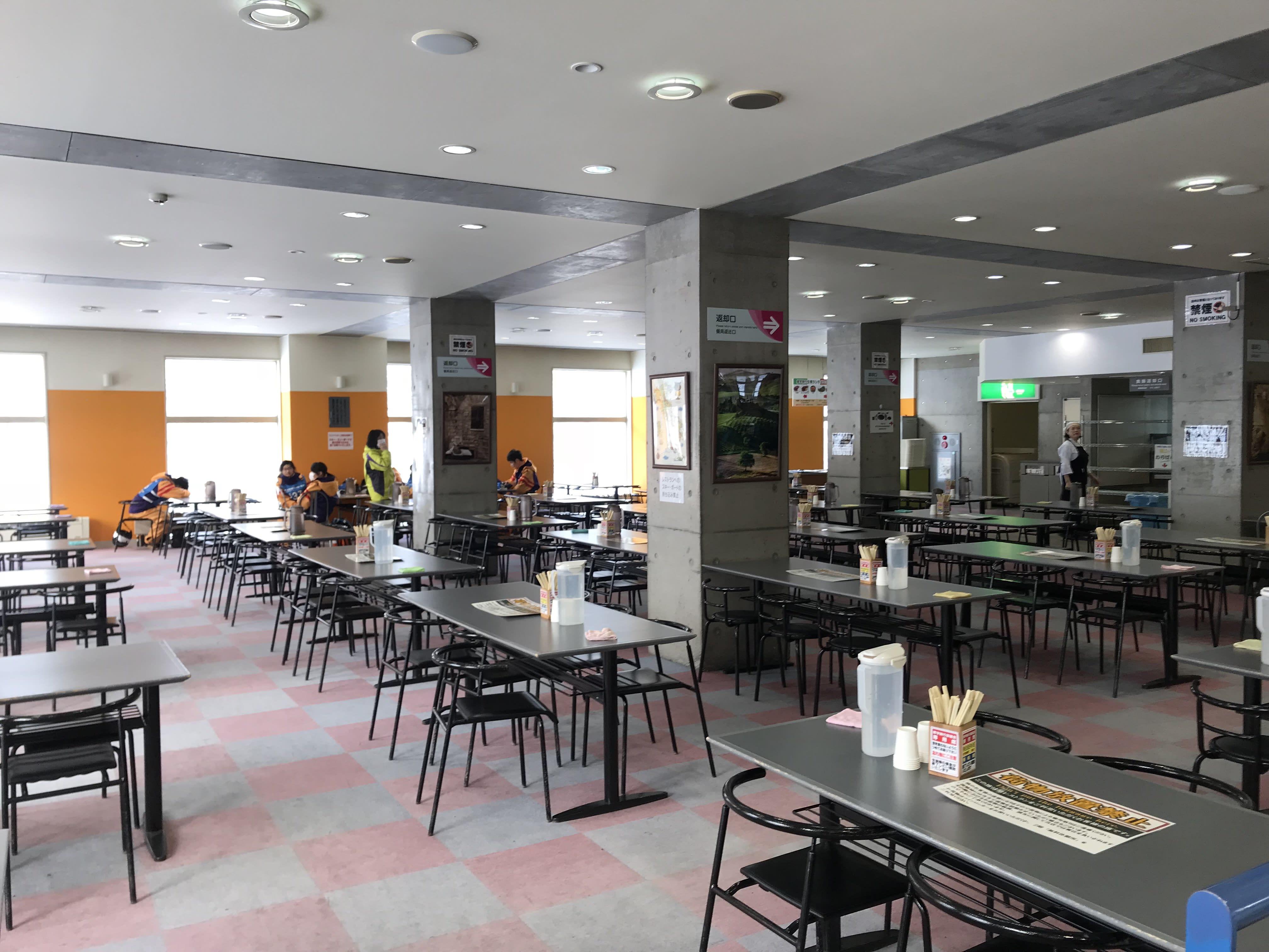 札幌國際滑雪場餐廳,取自:Ann Shih。