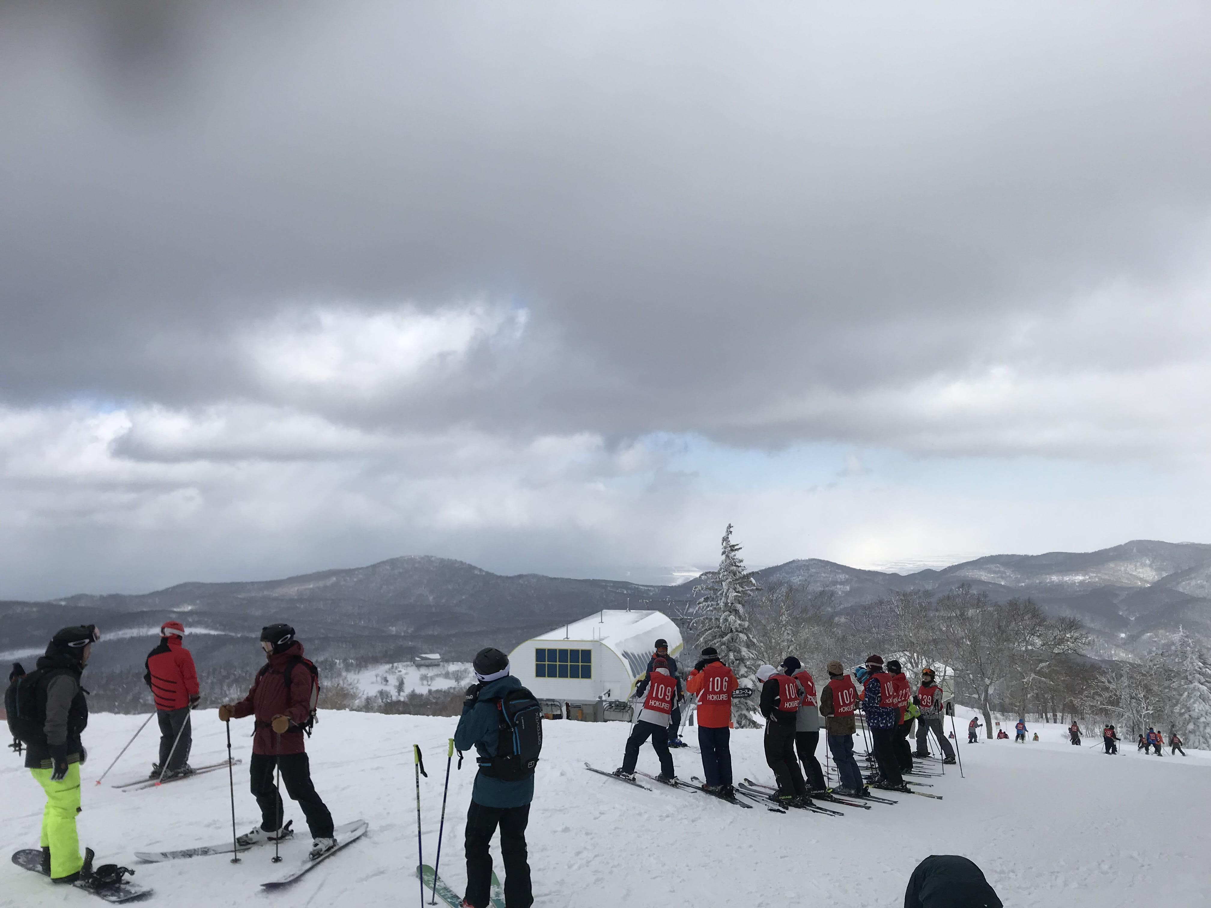 高難度的滑雪區,取自:Ann Shih。