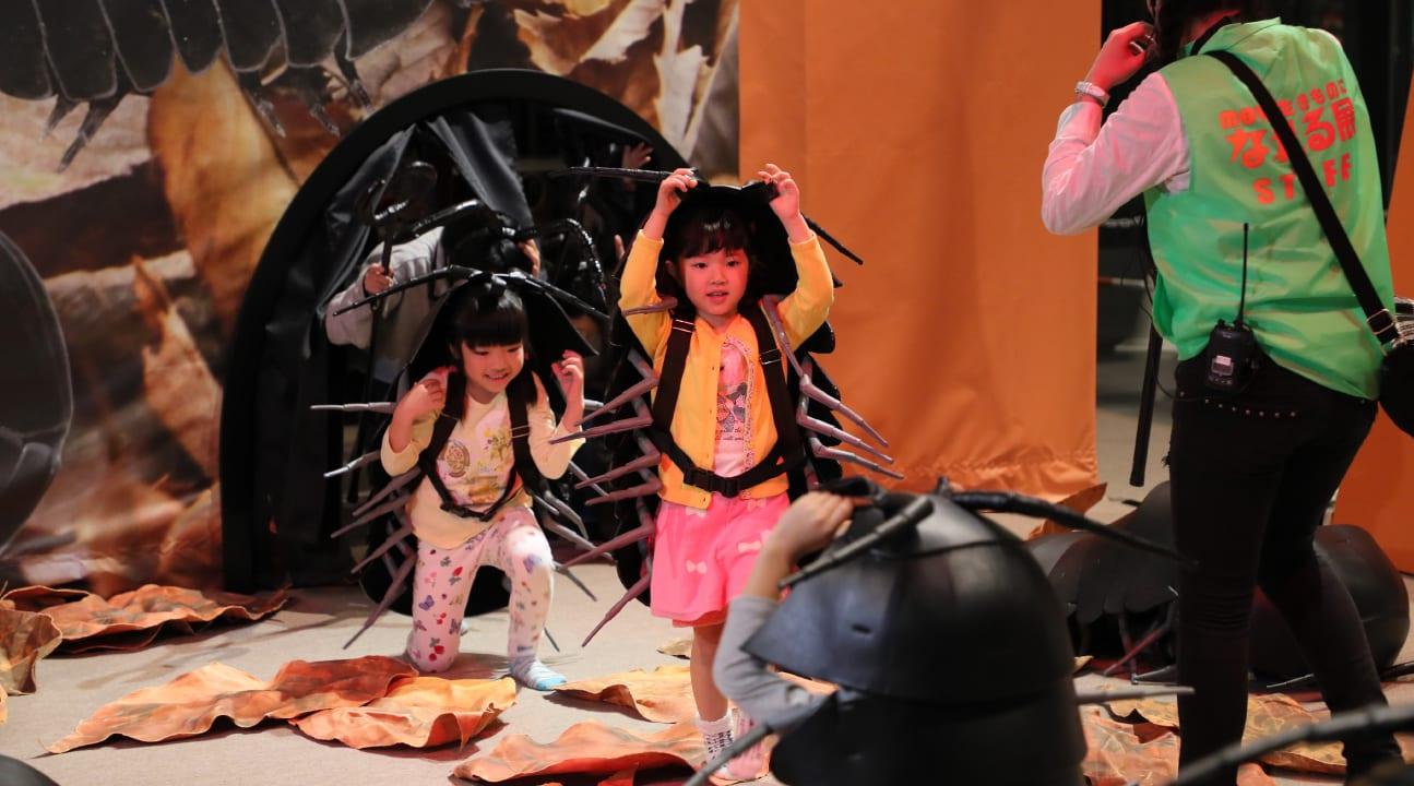 台北展覽,變變變!MOVE生物體驗展,小小花園。