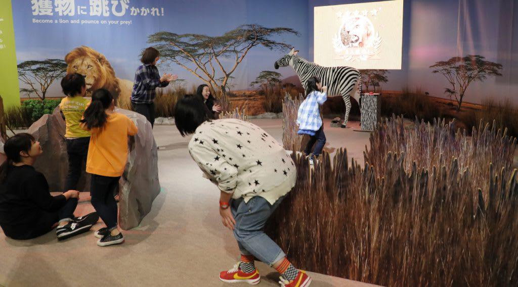台北展覽,變變變!MOVE生物體驗展,奇蹟草原。