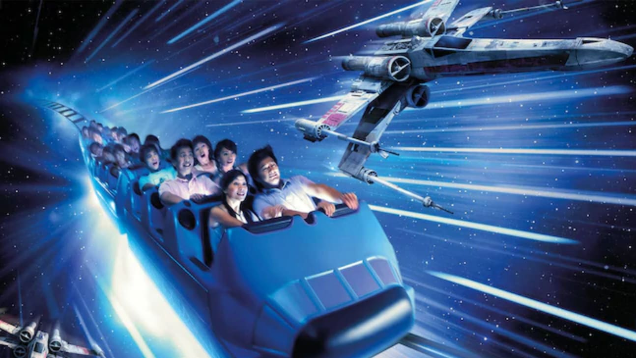 星戰極速穿梭,圖片取自https://www.hongkongdisneyland.com