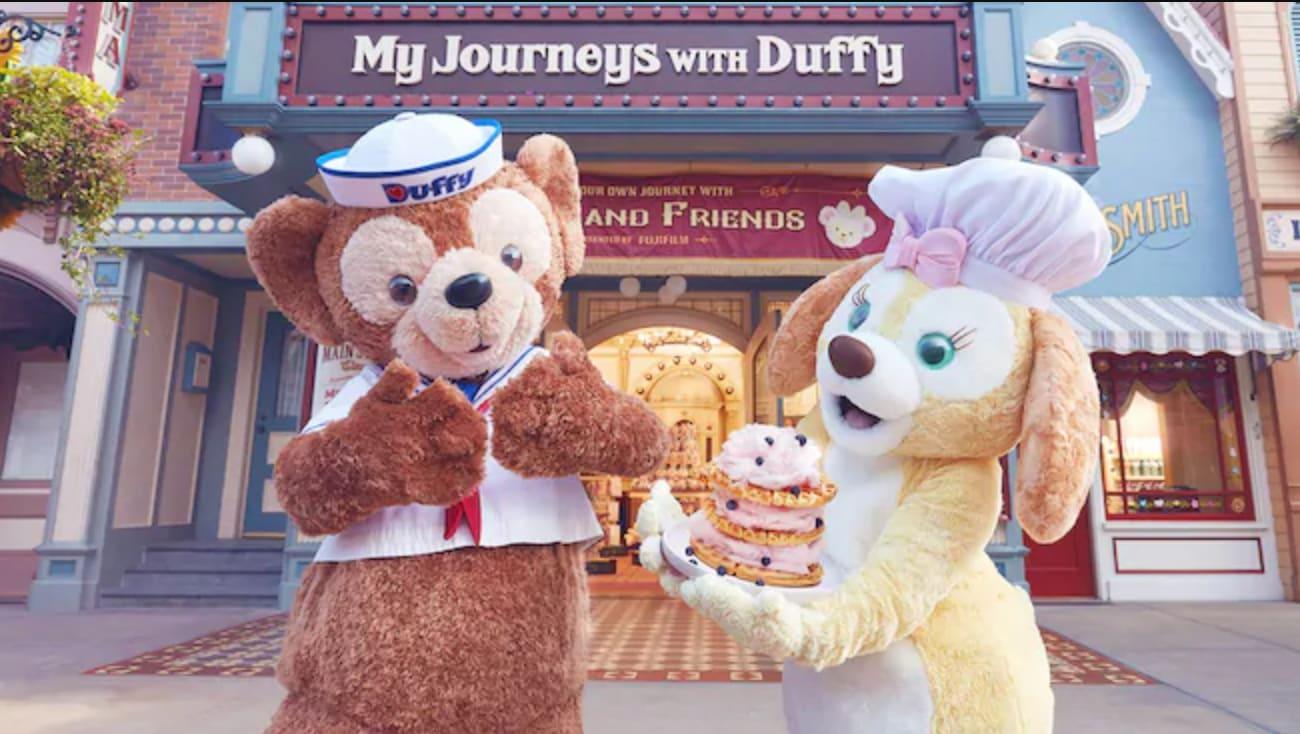 Duffy、Cookie系列商品,圖片取自https://www.hongkongdisneyland.com