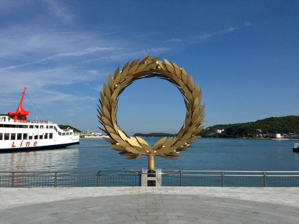 小豆島的「太陽的贈禮」 來源:fb @ArtSetouchi
