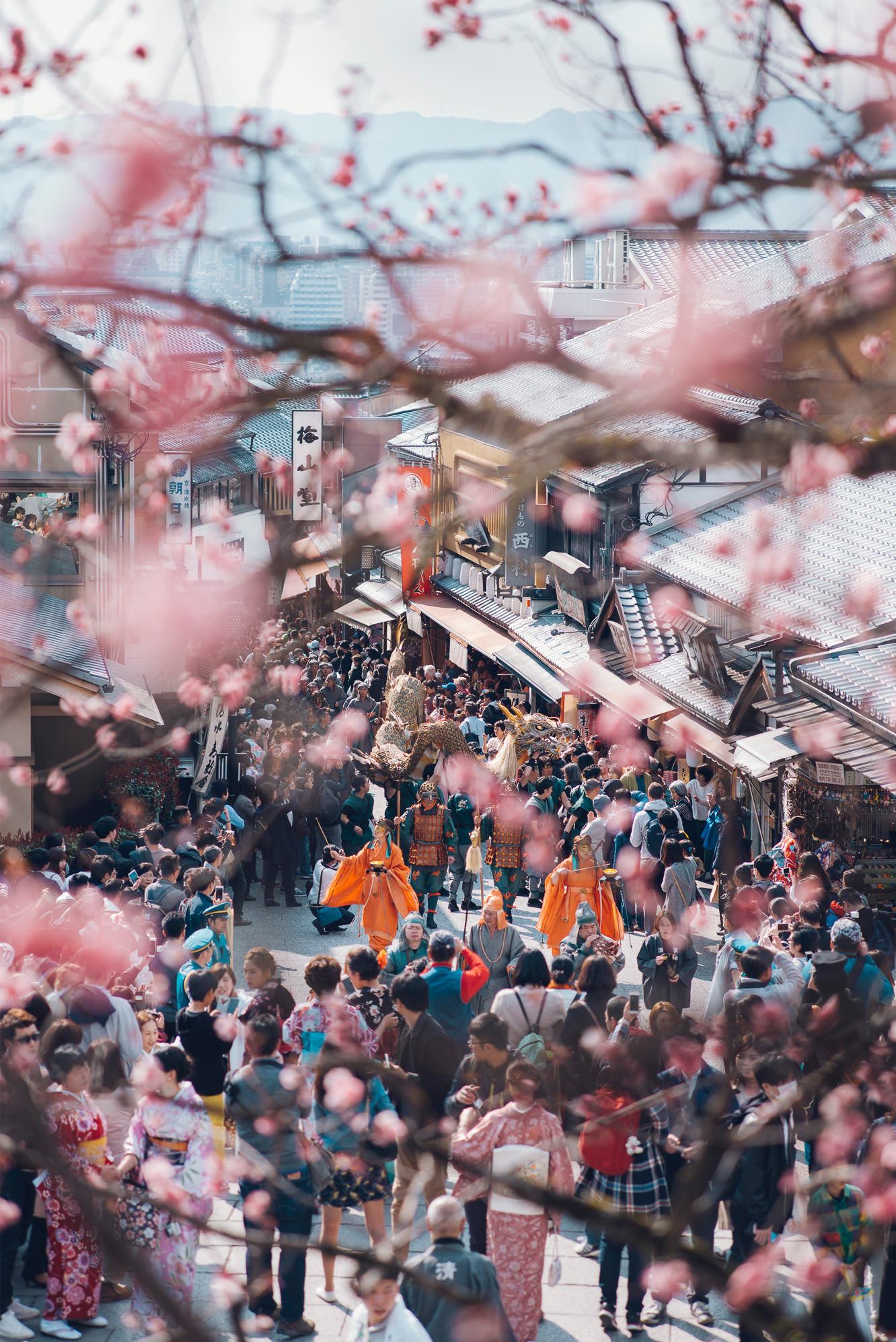 清水寺前的二年坂、三年坂 來源:www.kiyomizudera.or.jp