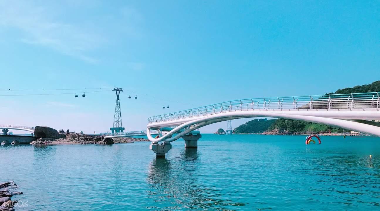 松島沙灘以及天空步道