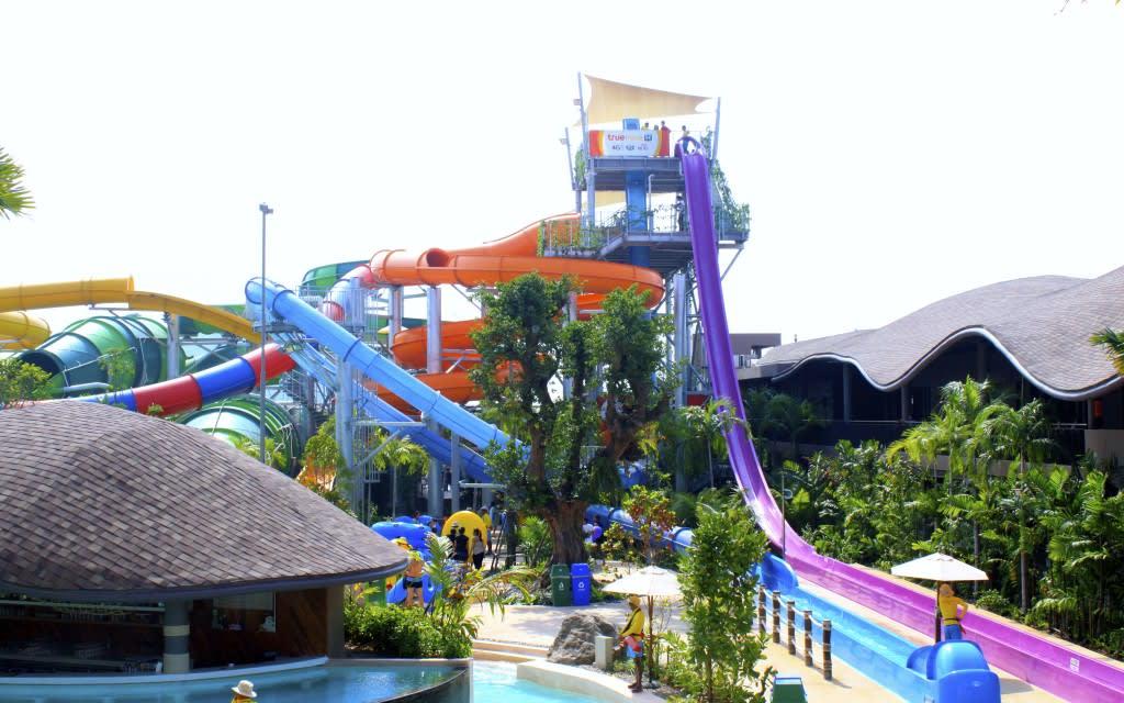 18 公尺垂直划水道|圖片來源:lovethailand