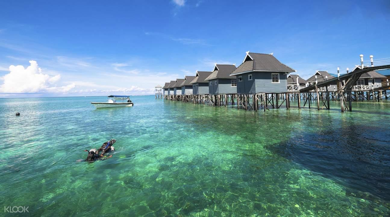 浮潛天堂美人魚島