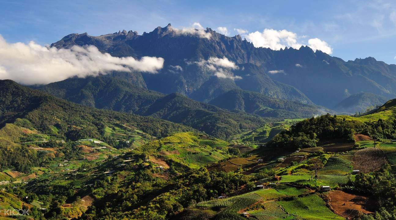 東南亞第一高峰沙巴神山 馬來西亞第一個世界自然遺產