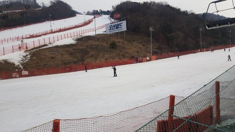 洪川大明滑雪場,Photo by Artshen