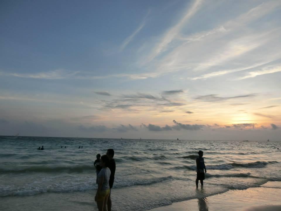長灘島曾被封為世界上最美麗的島嶼。照片來源:Ann Shih