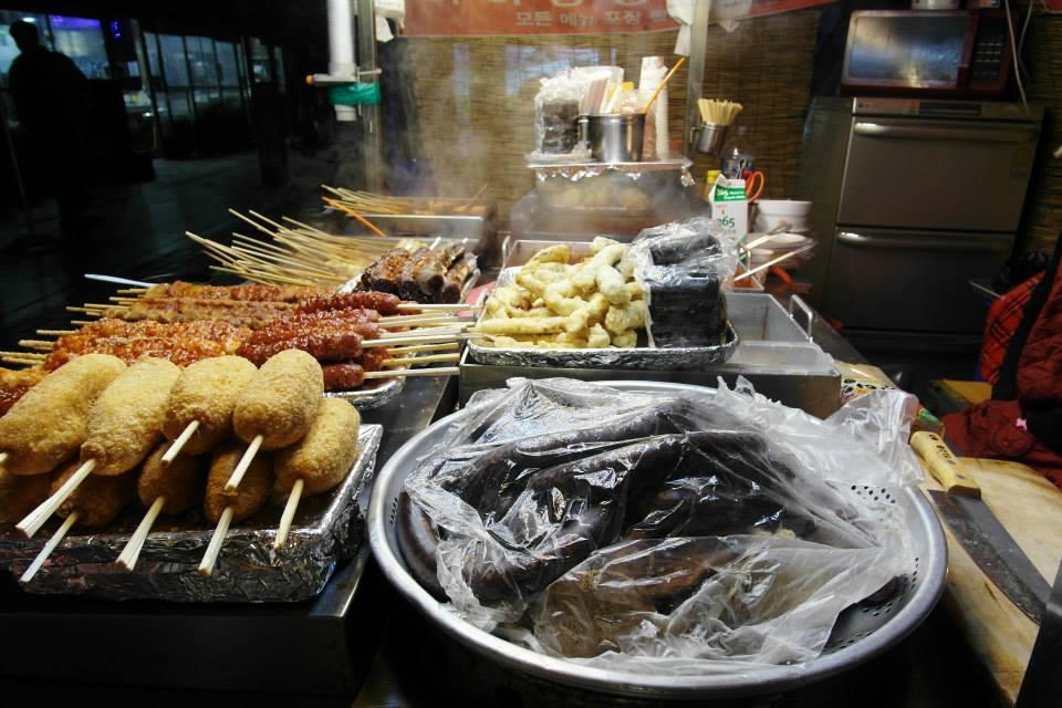 韓國布帳馬車小吃