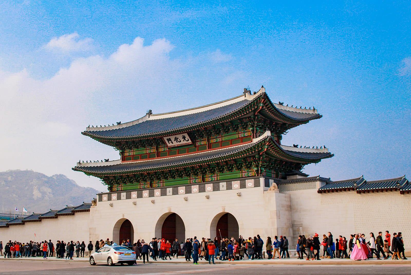景福宮,圖片取自維基百科。