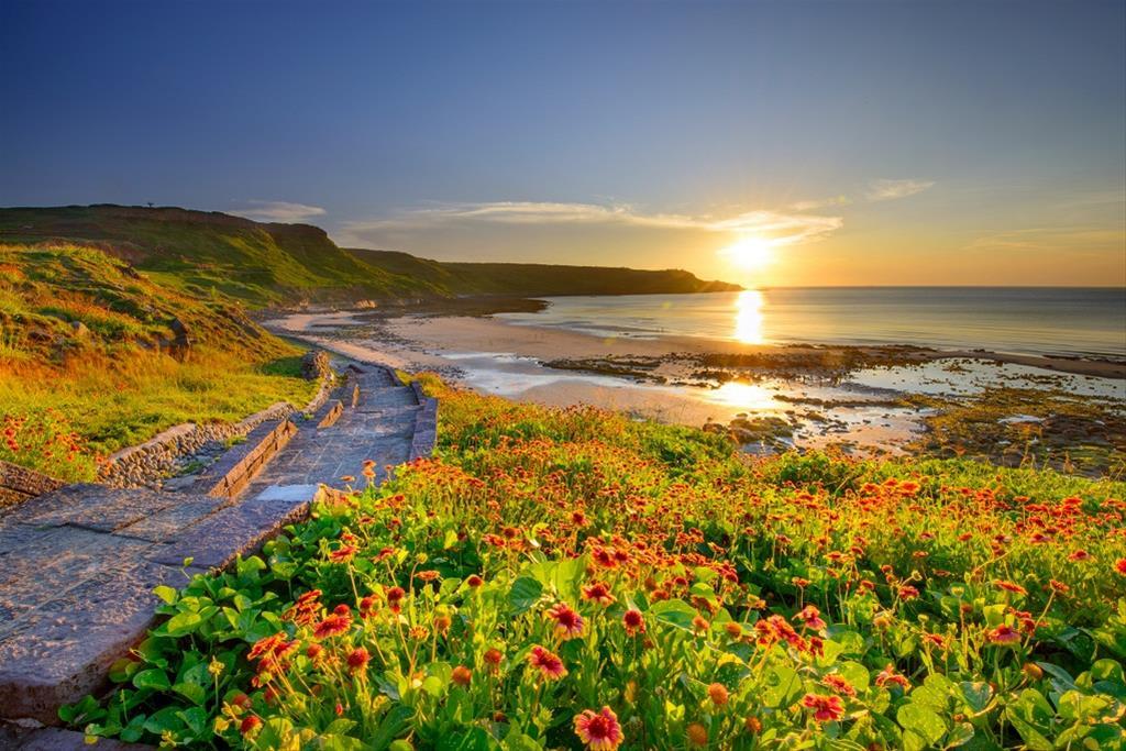 內垵沙灘,圖片取自澎湖國家風景區管理處官網。