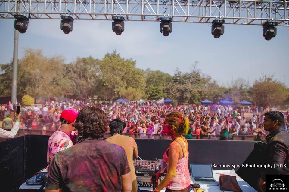 圖片取自Unite Holi Music Festival臉書專頁:https://www.facebook.com/uniteholimusicfestival/