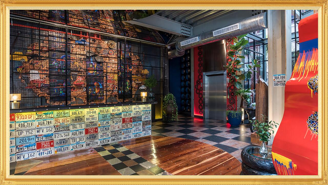 曼谷梅斯泰爾車庫飯店,圖片取自Mestyle Garage Hotel Bangkok官網。