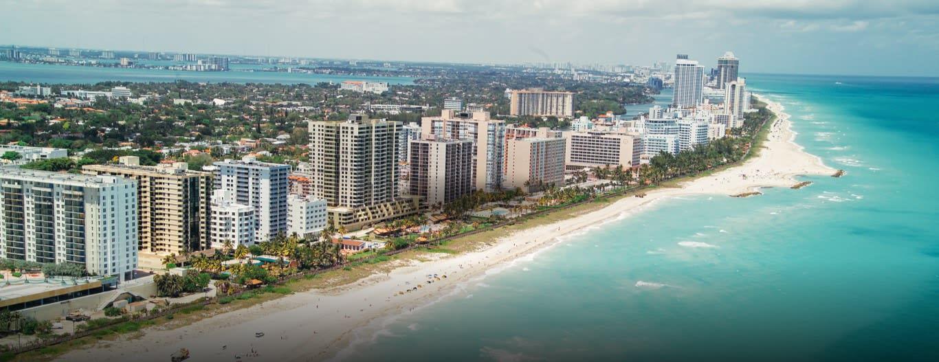 邁阿密,圖片取自www.ef.com。