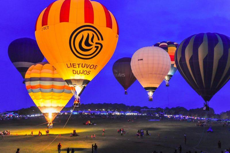 (熱氣球活動是近幾年台東熱門的旅遊活動)