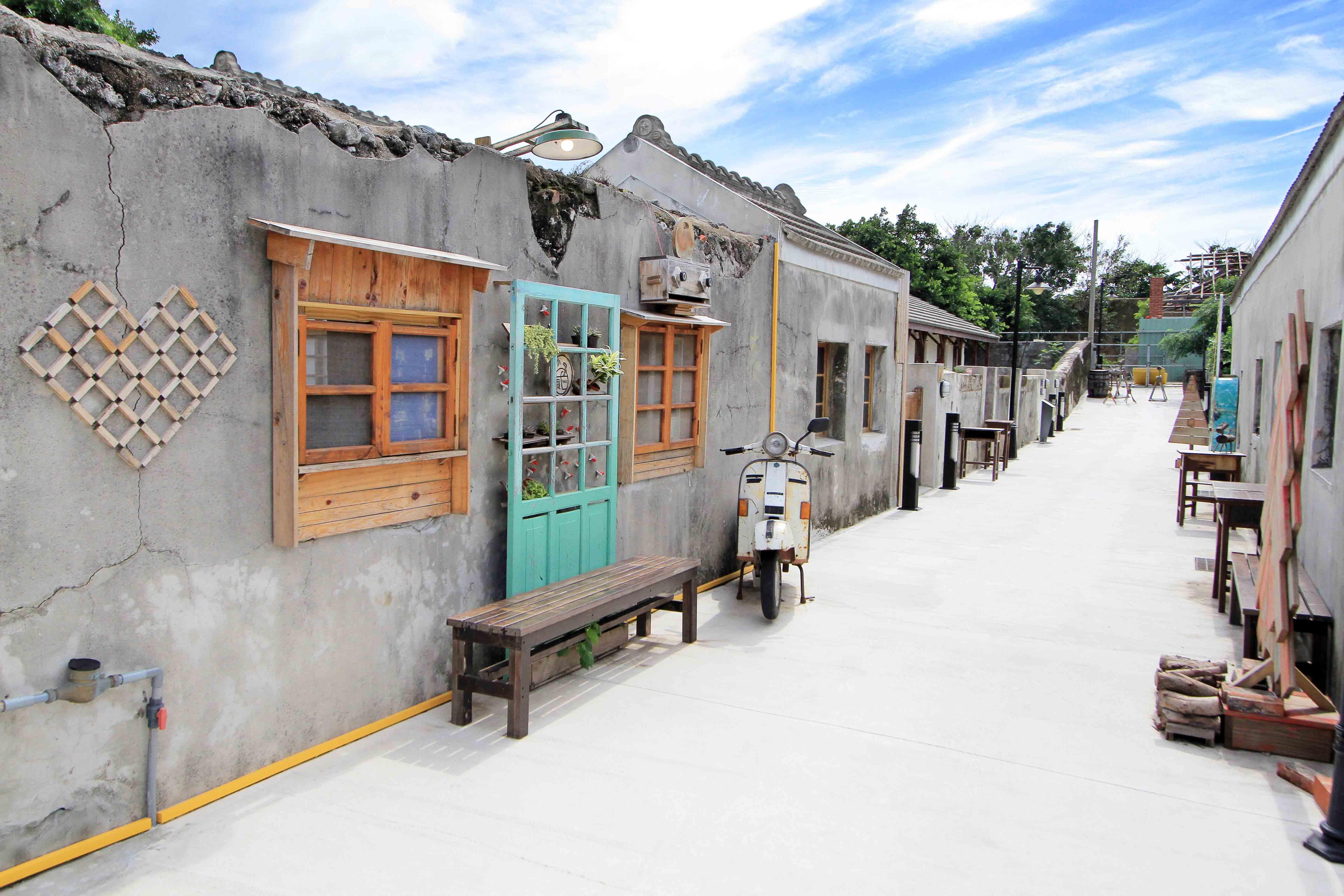 篤行十村文創園區,圖片取自澎湖縣政府旅遊處官網。